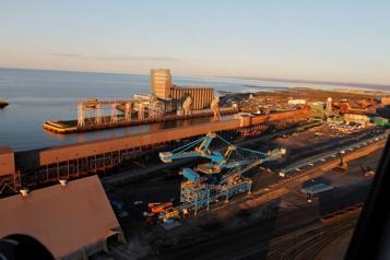 C'est la grève chez ArcelorMittal sur la Côte-Nord)