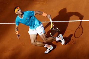 Le Tournoi de tennis de Rome à huis clos, disent les journaux italiens)