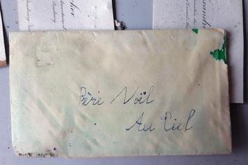 Une lettre au père Noël écrite dans les années 30 refait surface à Strasbourg)