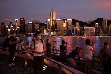 «La fin de Hong Kong telle que le monde l'a connue» )