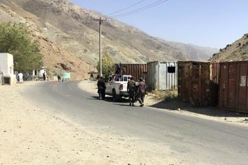 Le Panchir sous les talibans, vallée de villages fantômes)