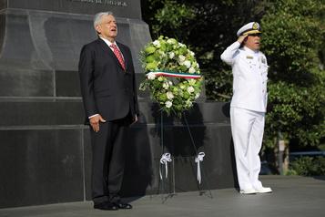 Trump accueille le président mexicain sous l'ombre menaçante du virus)