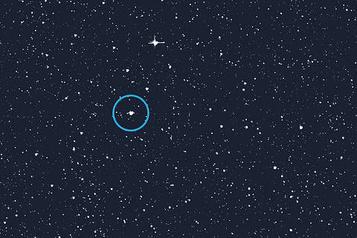 L'éclipse d'une ancienne étoile polaire