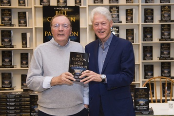 Bill Clinton et James Patterson vont sortir un nouveau roman policier en 2021)