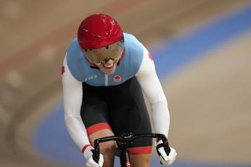 Championnats du monde de cyclisme sur piste Kelsey Mitchell vise deux titres