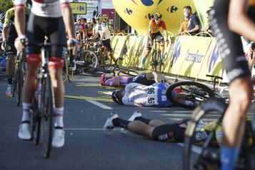 Tour de Pologne: l'état de Jakobsen stabilisé, coureur placé dans le coma)