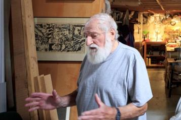 Dans l'atelier de… Claude Tousignant «Je n'ai pas trop perdu la main, mais jemanque de courage! Je suis vieux.»)