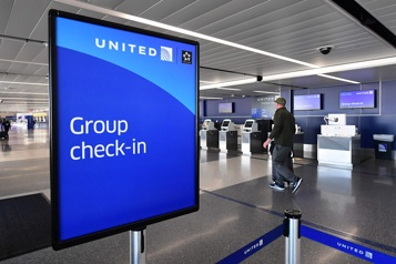 United Airlines a perdu 7,1 milliards US en 2020)