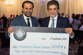 204000$ pour Santa Cabrini