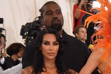 Kanye West et Kim Kardashian vivent séparés)