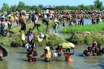 Répression des Rohingya: des crimes contre l'humanité financés avec l'aide de firmes étrangères? )