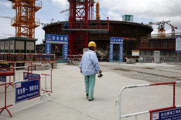 La Chine admet un incident mineur dans sa centrale nucléaire de Taishan)