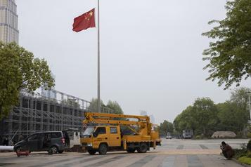 COVID-19: recueillement national en Chine samedi