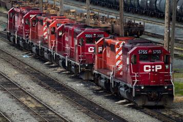 Profits en baisse pour le Canadien Pacifique)