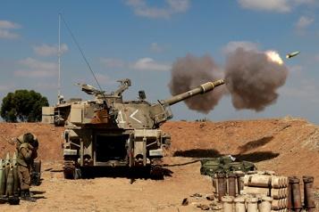 Conflit entre Israël et Hamas Plus de 100morts palestiniens à Gaza)