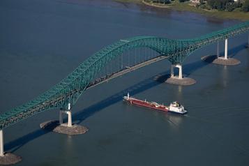 La Voie maritime du Saint-Laurent moins fréquentée depuis le début del'année