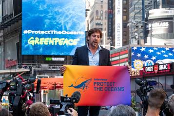 Javier Bardem à la défense des océans