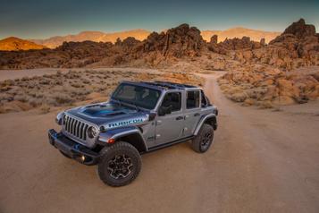 Jeep: retour duWagoneer et version enfichable pour le Wrangler)