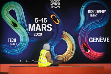 Salon de l'automobile de Genève2021 annulé en raison du coronavirus )