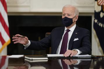 Une première chance pour Biden de marquer le système judiciaire)