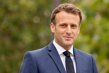 Macron vante les origines françaises de la vaccination)