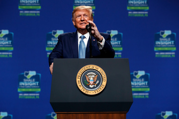 Trump promet de construire un mur… dans le Colorado