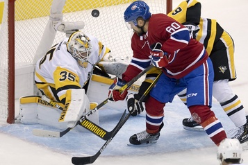 Penguins 0 – Canadien 2 (pointage final))