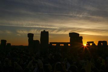 Stonehenge: le solstice d'été sera retransmis)