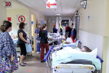 Hôpital du Suroît Urgences à bout de souffle)
