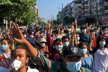 Birmanie Des contestataires appellent à un «printemps révolutionnaire»)