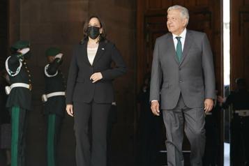 Migrations Kamala Harris évoque des discussions «franches» avec le président mexicain)