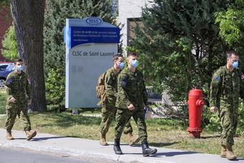 François Legault: «Le Québec paie sa part pour l'armée»)