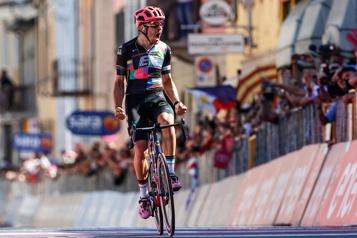 Tour d'Italie Les Groupama-FDJ ratent le bon train)
