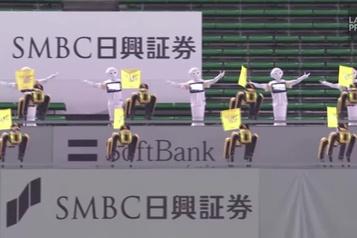 Au Japon, des robots pour pallier l'absence de spectateurs)