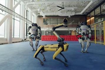 Une danse endiablée pour les robots de Boston Dynamics)