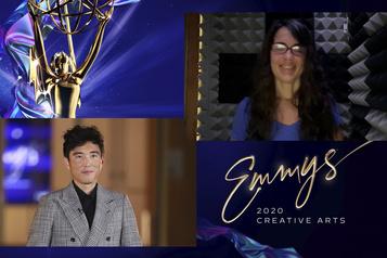 Un troisième Emmy Award pour la Montréalaise Elisabeth Williams)