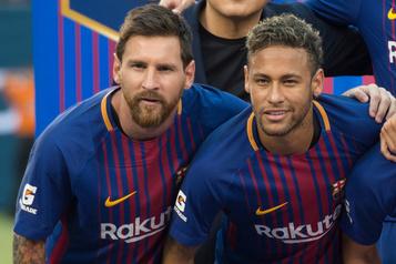 Messi aurait été «enchanté que Neymar revienne» avec le FC Barcelone