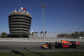 Formule 1 RedBull met sous pression Mercedes lors des essais)