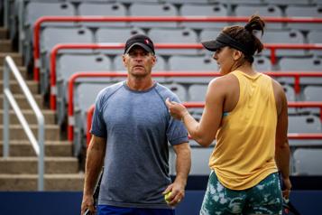 Sylvain Bruneau n'est plus l'entraîneur de Bianca Andreescu)
