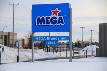 Fermeture de l'usine de Mega Bloks à Montréal: 600 emplois perdus