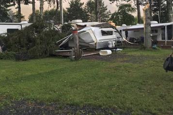 Mauricie: Environnement Canada confirme qu'il s'agissait d'une tornade