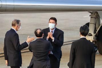 La visite d'un haut dirigeant américain à Taïwan suscite l'ire de Pékin)