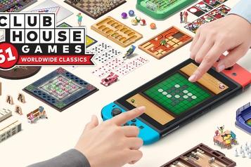 Clubhouse Games: buffet à volonté! ★★★★★)