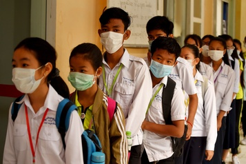 Coronavirus: le masque, un réflexe de protection pas forcément efficace