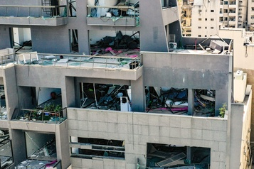 Peu d'espoir de retrouver des survivants à Beyrouth, selon l'armée)