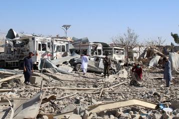 Afghanistan: 29 morts dans un attentat et une frappe de drones