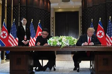 La sœur de Kim Jong-un rejette l'idée d'un nouveau sommet avec les États-Unis)