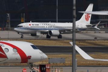 Washington va suspendre des vols de compagnies chinoises)