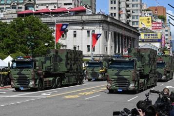 Taïwan ne cédera pas aux pressions de la Chine, soutient sa présidente