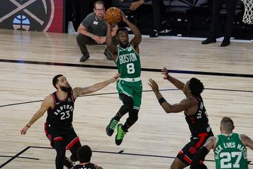 Duel décisif entre les Raptors et les Celtics vendredi soir)